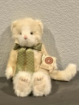 Boyd's Bears Tibsley Purrsalot Collectible Cat New in Travis AFB, California