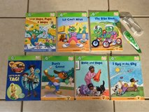 Leapfrog Tag Reader Books, Pen and USB Cable Like New in Travis AFB, California