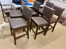 dining leather chairs in Kingwood, Texas