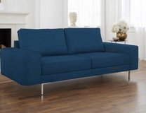 Beautiful turquoise sofa / couch.  Almost new. in Wiesbaden, GE
