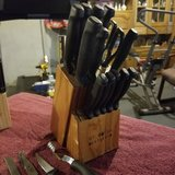 19 Pc Knife Set in Fort Knox, Kentucky
