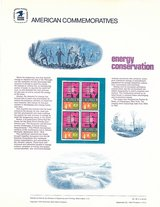 Energy Conservation & Oil on Stamps in Kingwood, Texas
