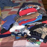 Huge pile boys 7/8 mixed clothes in Sandwich, Illinois