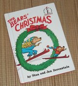 Rare Vintage 1970 Dr Seuss The Bears Christmas Berenstain Bears Hard Cover Book in Morris, Illinois