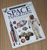 Vintage 1997 Space Exploration Eyewitness Books Hard Cover in Yorkville, Illinois