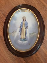 Our Lady of Grace with Frame Collector Plate in Bolingbrook, Illinois