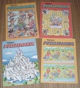 NEW Vintage Lot of (4) 1991 & 2002 Highlights Puzzle Mania Activity Book Set in Chicago, Illinois