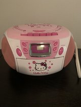 Hello kitty cd and radio player in Westmont, Illinois
