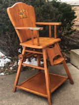 Vintage High Chair in St. Charles, Illinois