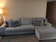RAF Corner Chaise couch w/ 360 swivel chair set in Camp Pendleton, California