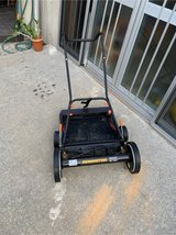 new push mower, remington, used once less than a month old in Okinawa, Japan