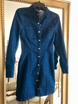 Beautiful Jean Dress for young Adult..H&M Size: 34 XSmall (New) in Stuttgart, GE