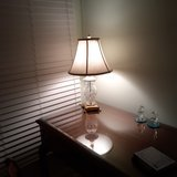 Waterford table lamp in Westmont, Illinois