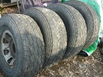 """Set of 15"""" tires in Clarksville, Tennessee"""