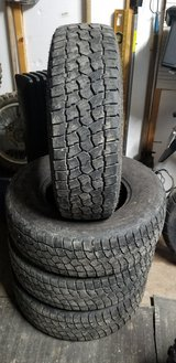 Nice set of Four 235-75-15 All-terrian Tires in Fort Leonard Wood, Missouri