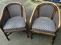 2 Pairs of Bamboo Chairs in Lakenheath, UK