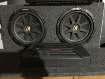 Kicker Subs With Pioneer And Rockford Fosgate Amp in Joliet, Illinois