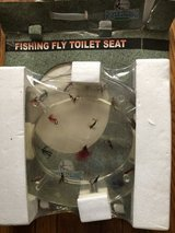 So Cool fly fisherman's toilet seat new in packaging in Chicago, Illinois
