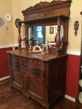 Antique OAK buffet sideboard in Arlington, Texas