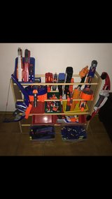 Collection of NERF Guns with 250+ Bullets, Strato and Lighting Bow, Protective Gear, and RIVALS in Ramstein, Germany