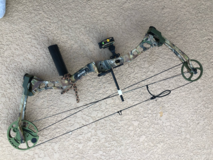 Bear Charge compound bow in Kingwood, Texas