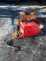 Ice fishing gear in Westmont, Illinois