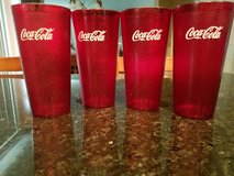 4 Coke 32oz Tumblers NEW in Sandwich, Illinois