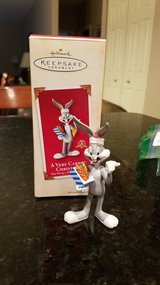 Hallmark Ornament Bugs Bunny A Very Carrot Christmas 2002 in Sandwich, Illinois