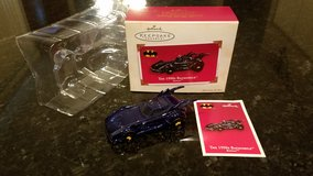 Hallmark Ornament The 1990s Batmobile 2003 in Yorkville, Illinois