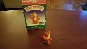 Hallmark Miniature Christmas at Pooh's House Tigger in Yorkville, Illinois