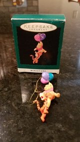 Hallmark Miniature Ornament Winnie the Pooh & Tigger in Yorkville, Illinois