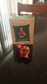 Hallmark Miniature Ornament Classic Red Riding Hood in Yorkville, Illinois