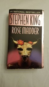 Stephen King Rose Madder Softcover in Sandwich, Illinois
