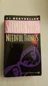 Stephen King Needful Things Softcover in Sandwich, Illinois