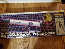 Terrestrial-Astronomical Telescope 134 Power and 50 Power 50mm in Westmont, Illinois