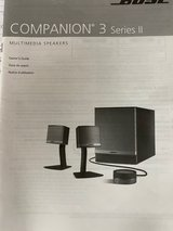 Bose Companion 3 in Fort Campbell, Kentucky