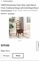 Clothes Valet Chair with Drawer in Sandwich, Illinois
