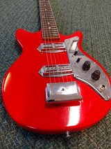 mini-electric guitar in Fort Campbell, Kentucky