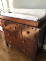 Pottery Barn 3 Drawer Dresser Changing Table in Westmont, Illinois