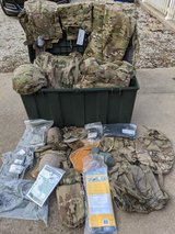Multicam gear in Fort Leonard Wood, Missouri