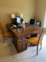 Stanley Furniture Provincia  Partners Desk with room for three in Joliet, Illinois