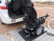 Power Electric Wheelchair, Lift Included in Alamogordo, New Mexico