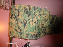 Green Cammie bottoms size small short in Camp Lejeune, North Carolina