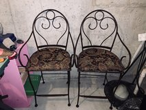 Two Metal Chairs in Naperville, Illinois