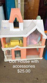 Doll House and Accessories in Fort Leonard Wood, Missouri