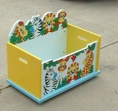 childs first toybox / toy box / storage organizer in Macon, Georgia