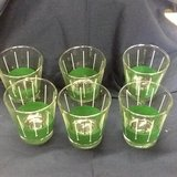 set of six glasses in Clarksville, Tennessee