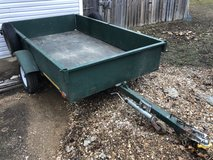 Trailer, utility homemade in Fort Leonard Wood, Missouri
