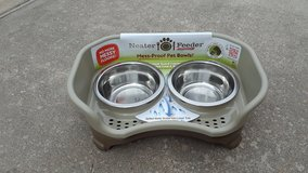 New Neater Feeder    Mess-Proof Pet Bowls    Small Dogs in Houston, Texas