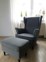 WANTED: Ikea Strandmon wingchair and/or ottoman in Ramstein, Germany
